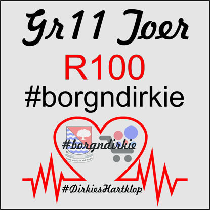 Picture of #borgnDirkie_Gr11 - R100