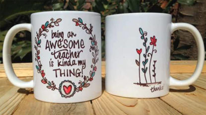 Picture of Koffie Beker - being an awesome teacher is kinda my thing