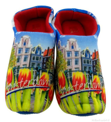 Picture of Clog slippers Amsterdam, day picture, kids size 13-4(eu 31-35)