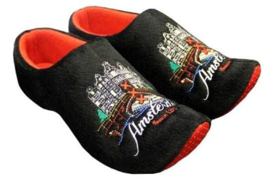 Picture of Clog slippers black house size 6-8(eu 39-41)