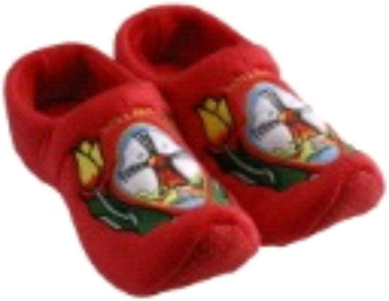 Picture of Clog slippers red tulip, size 6-8(eu 39-41)