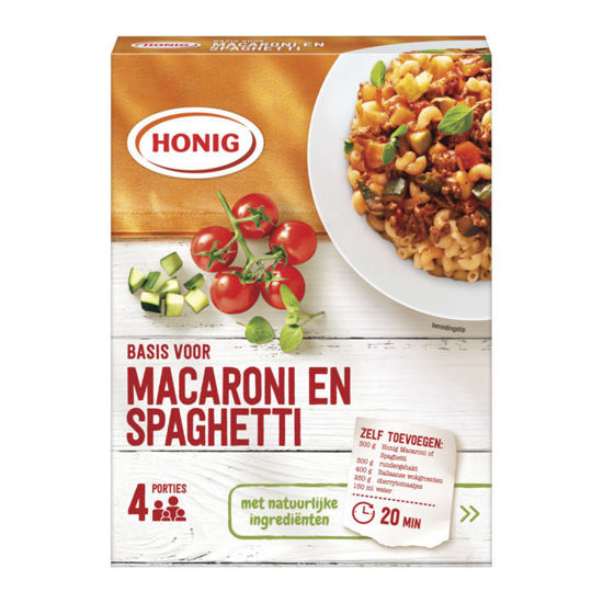 Picture of Honig Mix voor Macaroni/Spaghetti  41g