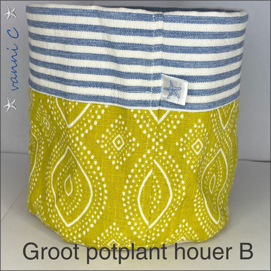 Picture of Groot potplanthouer B