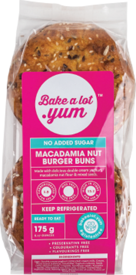 Picture of Macadamia Nut Burgers x2 175g