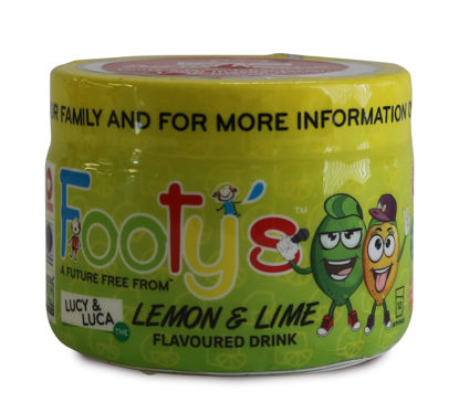 Picture of Footy's Lemon and Lime - Powder 170g