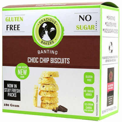 Picture of Low Carb/Banting Chocolate Chip Biscuits 180g