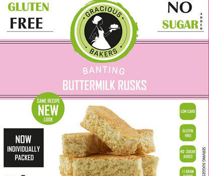 Picture of Low Carb/Banting Buttermilk Rusks 250g