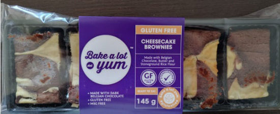 Picture of Gluten Free Cheesecake Brownies 145g